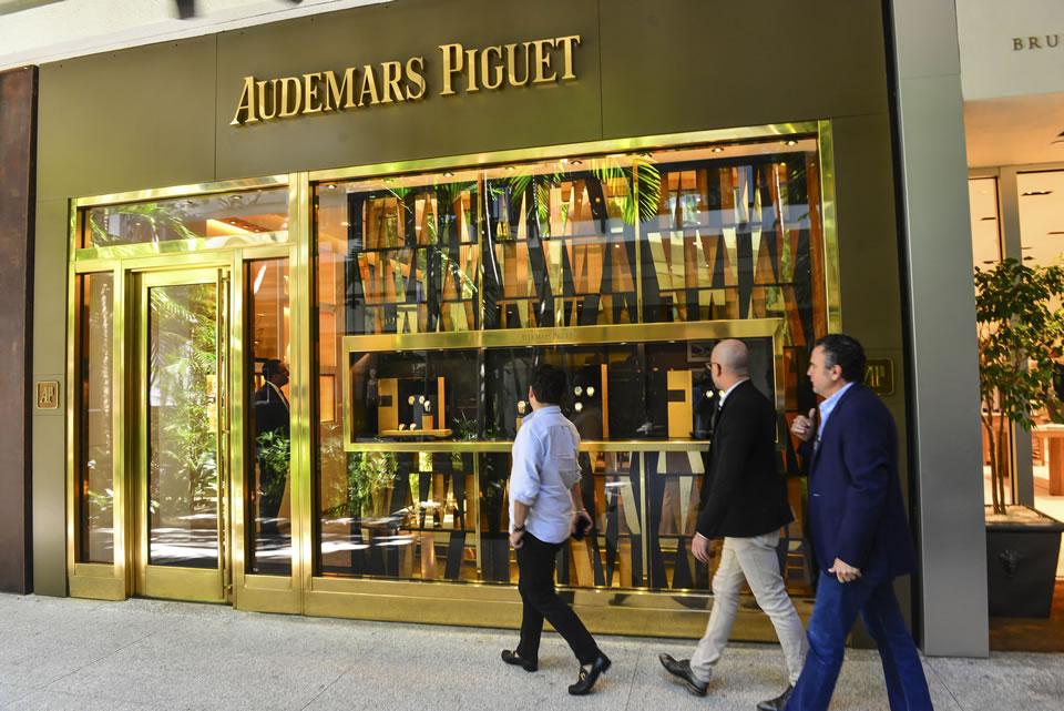 Audemars Piguet storefront