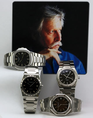 Gerald Genta Swiss Watch Designer