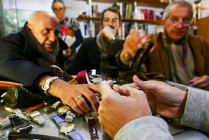 vintage watch dealers in italy