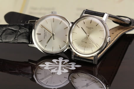 1960s Patek Philippe Calatrava Ref 3466 and 3483