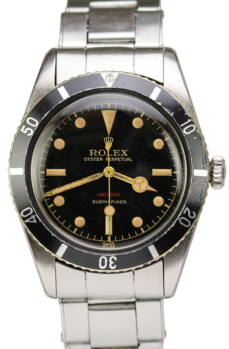 Rare Rolex James Bond Ref. 6536 Submariner
