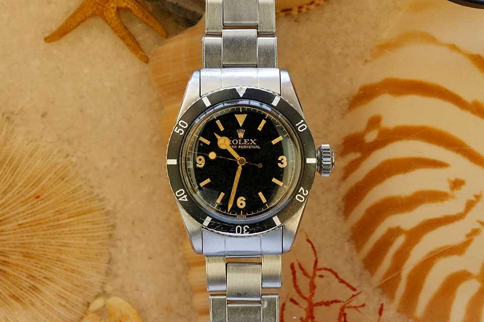 rolex big crown james bond submariner ref 6200