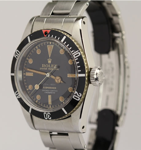 James Bond Rolex Submariner Ref. 6538