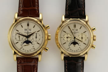 Patek Philippe reference 2499 and 3970. Early to late 1980s