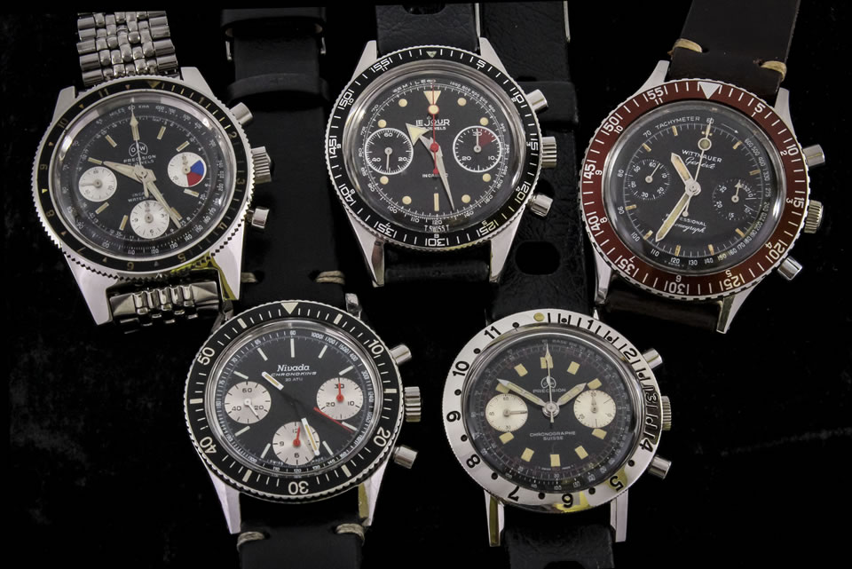 steel chronograph watches