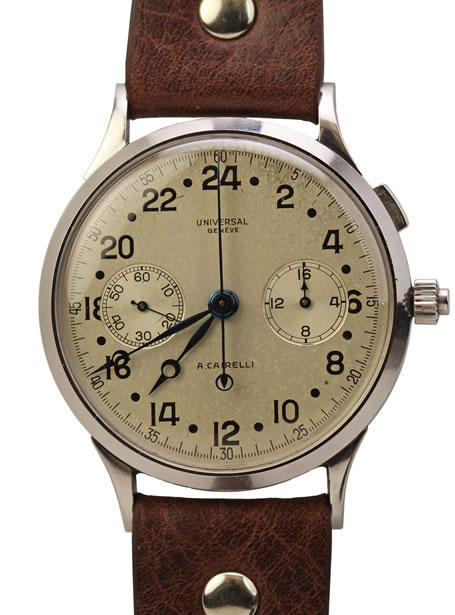 Universal Geneve split second chronograph