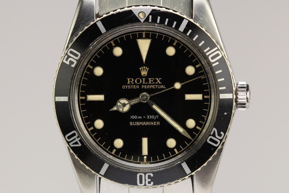 1958 Rolex James Bond Submariner Gilt Dial Watch For