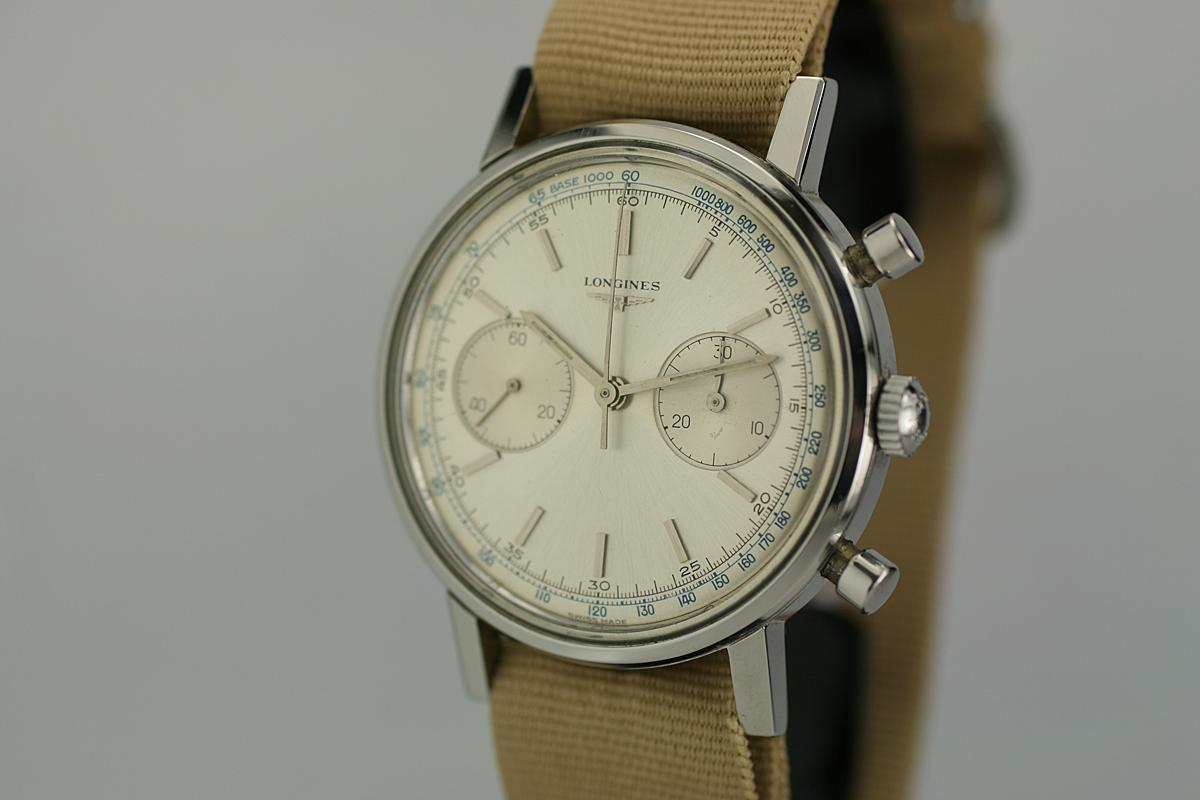 Vintage Omega Watches >> 1960 Longines Chronograph Watch For Sale - Mens Vintage Chronograph