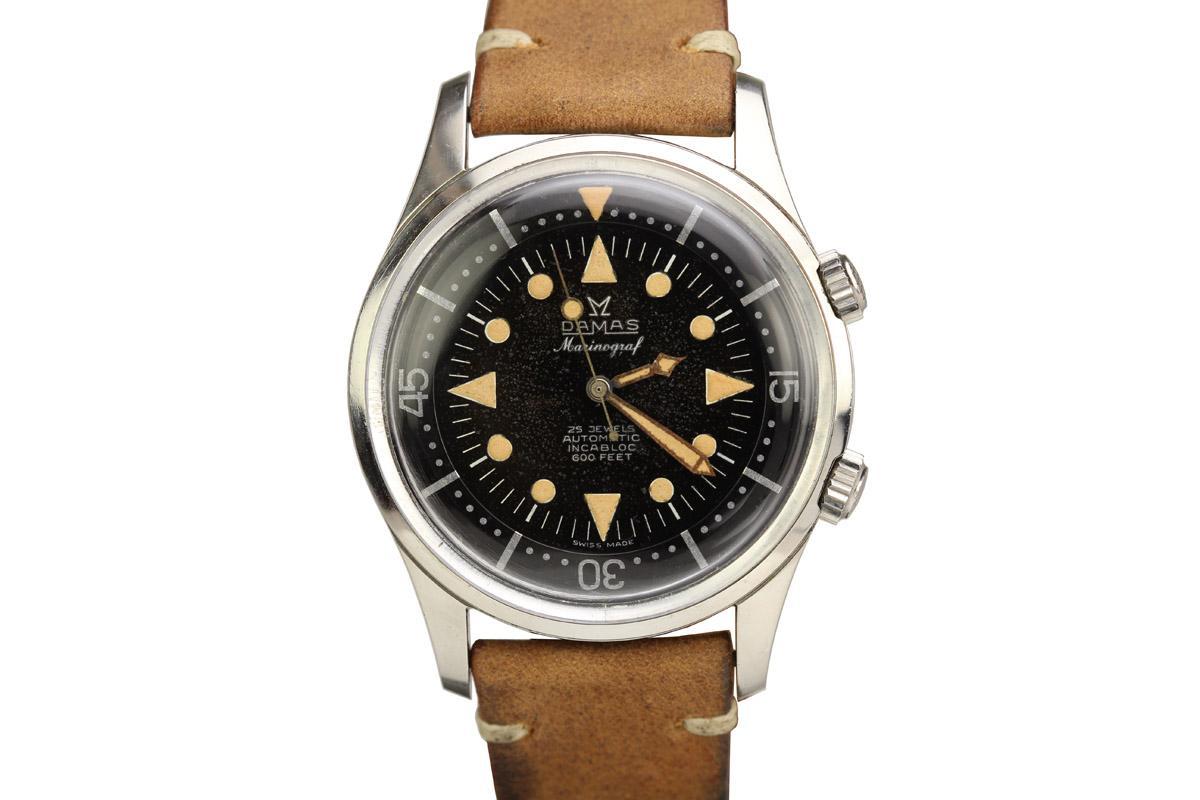 1960 Damas Marinograf Watch For Sale