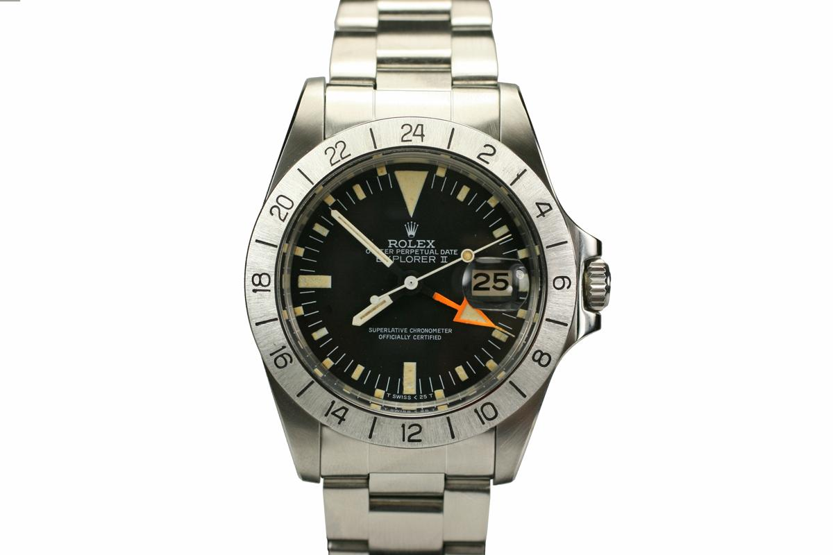 1979 rolex explorer ii steve mcqueen 1655 watch for sale mens vintage time only for Mcqueen watches