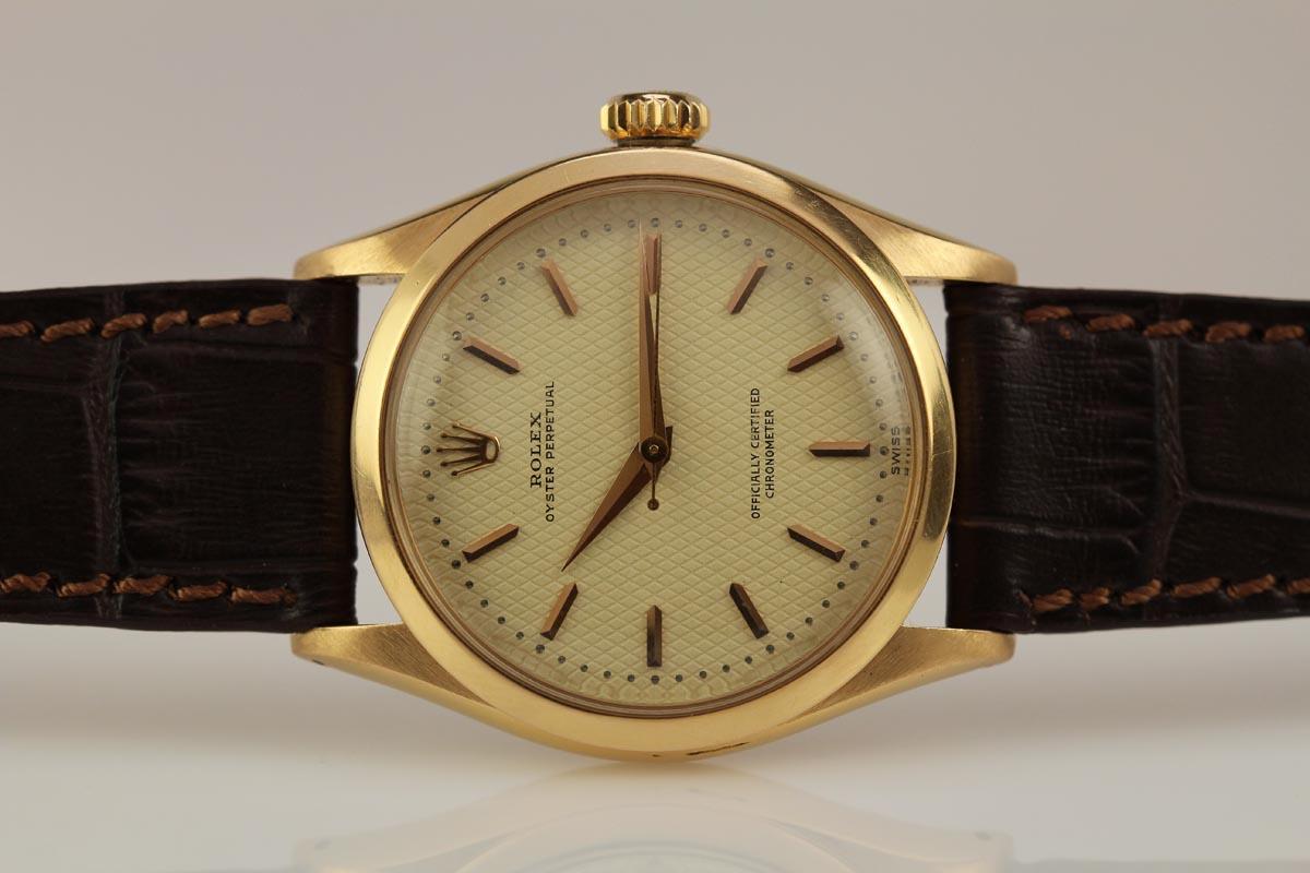 Vintage Tudor Watches >> 1952 Rolex Chronometre Ref 6284 Watch For Sale - Mens Vintage Time only