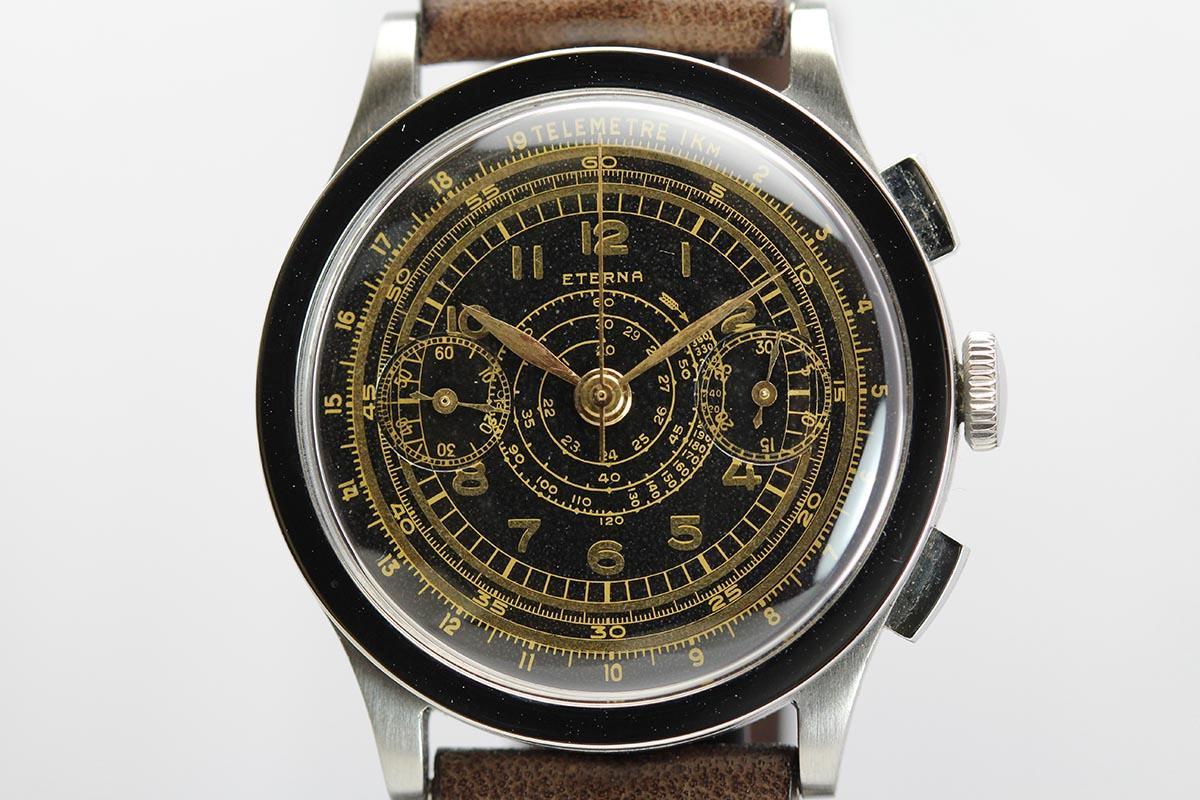 1940 eterna chronograph for sale mens vintage