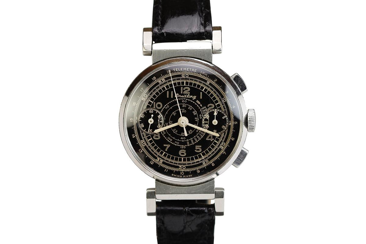 Hublot Watch Price >> 1940 Breitling Chronograph Watch For Sale - Mens Vintage Chronograph