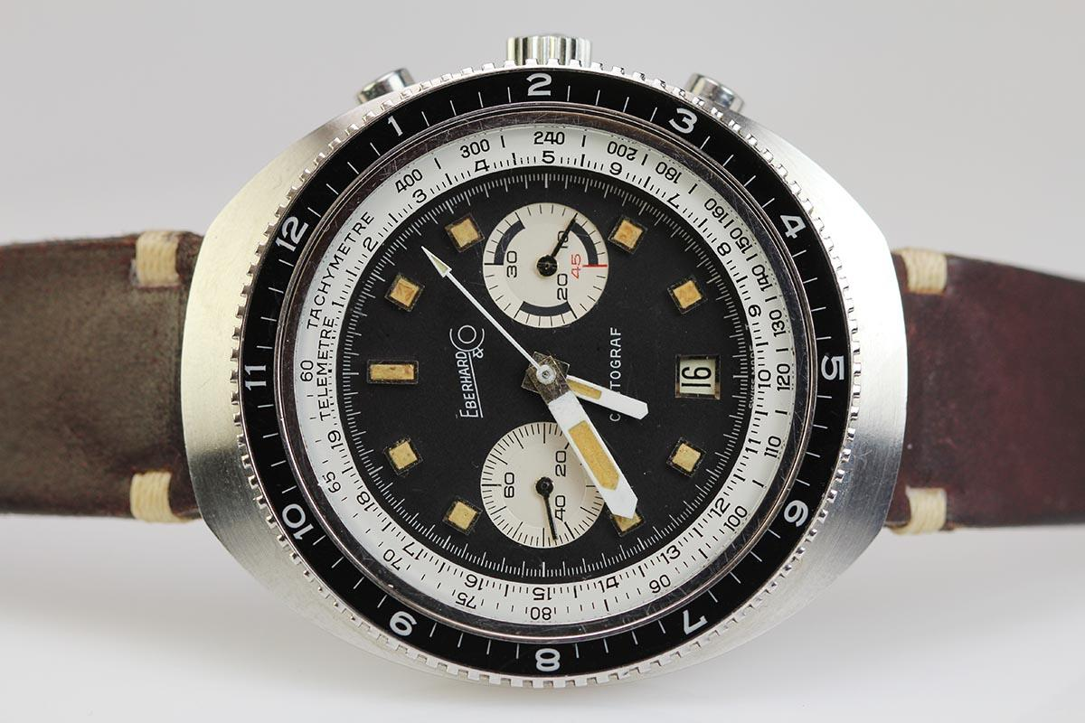 Omega Watch Price >> 1970 Eberhard Contograf Watch For Sale - Mens Vintage ...