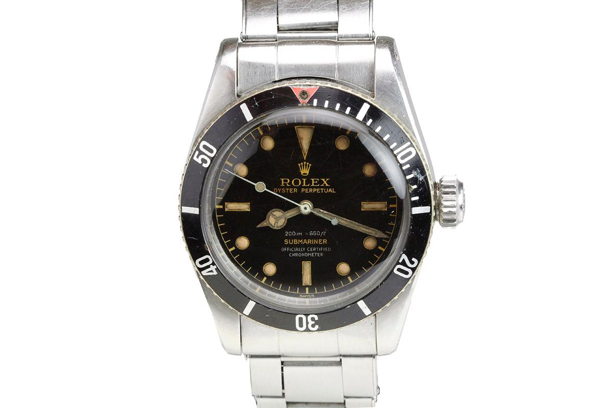 1958 rolex submariner aka big crown james bond ref 6538 watch for sale mens collectible time. Black Bedroom Furniture Sets. Home Design Ideas