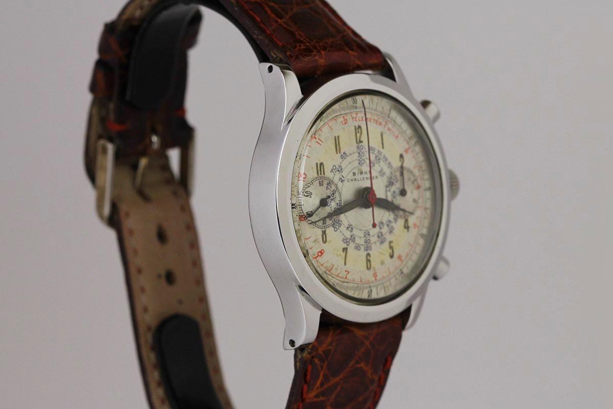 1950 birks challenger chronograph for sale mens