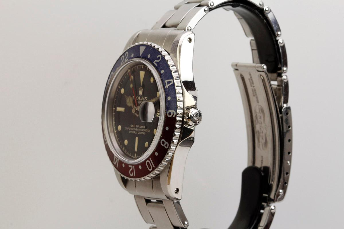 1961 Rolex Gilt Dial GMT-Master Ref 1675 Watch For Sale