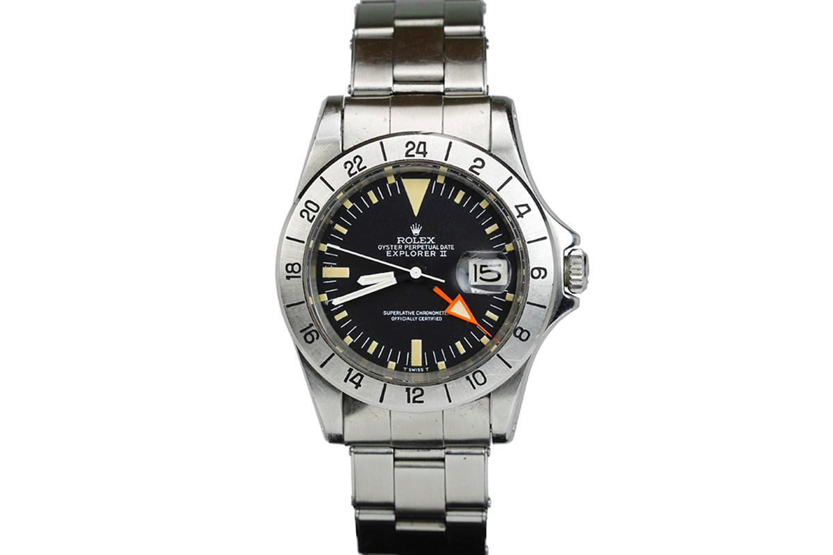 1971 rolex explorer ii aka steve mcqueen watch for sale mens vintage date gmt minute repeater for Mcqueen watches