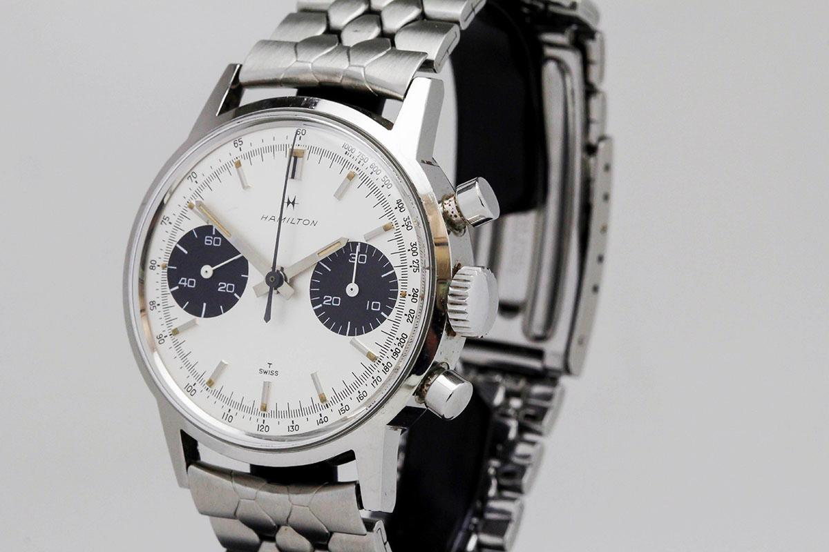 1960 Hamilton Panda Ref 7723 Watch For Sale Mens Vintage