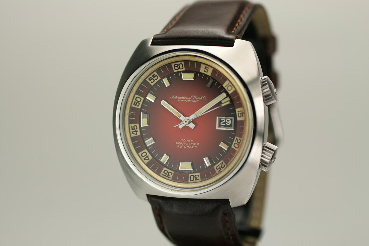 Vintage Tudor Watches >> 1970 International Watch Company Aquatimer Watch For Sale ...