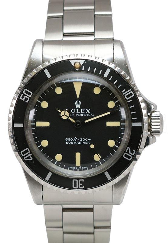 1970's rolex submariner reference 5513
