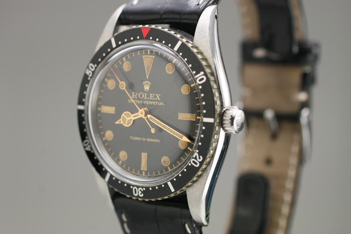 1953 Rolex Oyster Perpetual Turn O Graph Watch For Sale