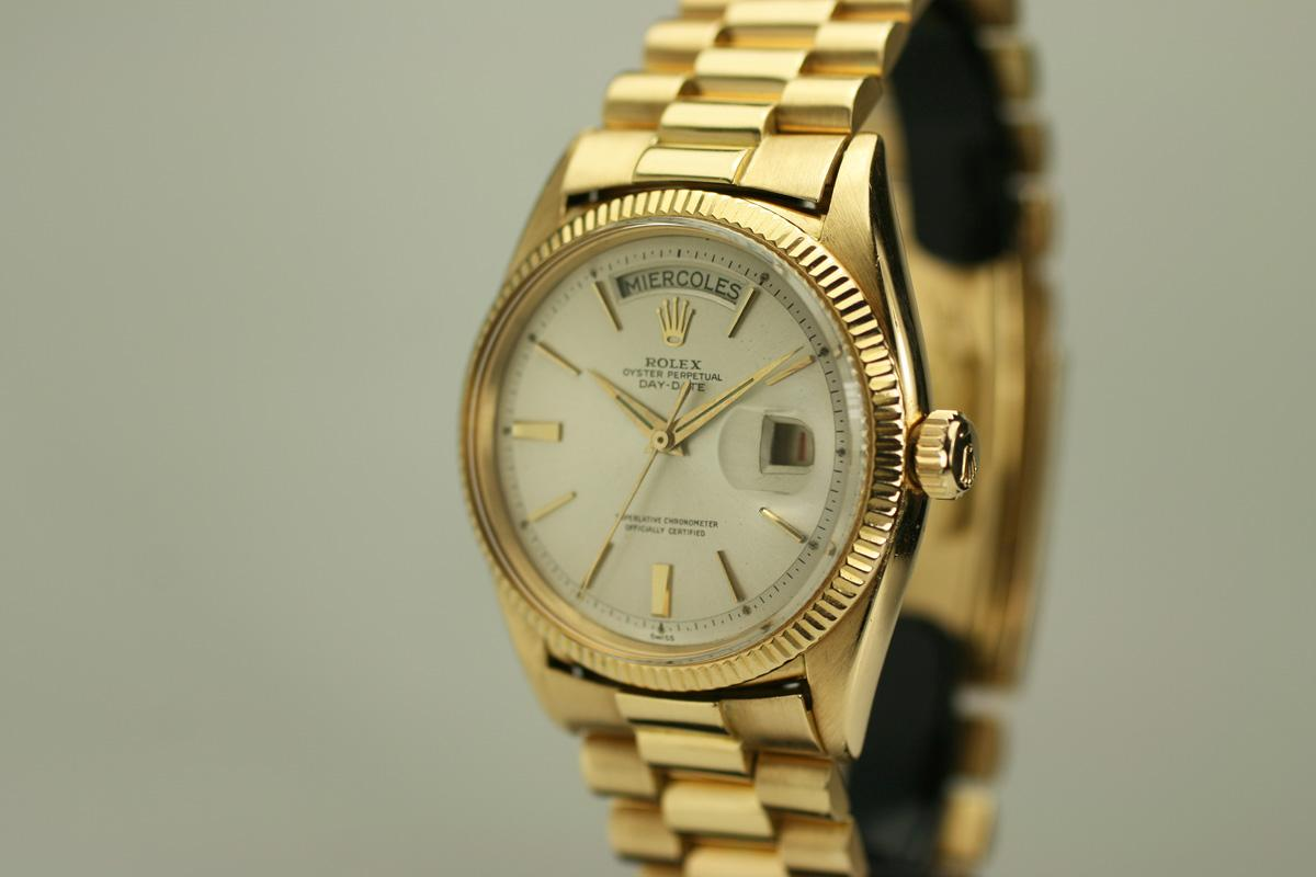 1956 rolex day date presidential ref 6611 watch for sale