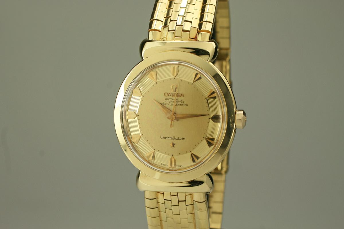 1950 Omega Constellation Watch For Sale Mens Vintage