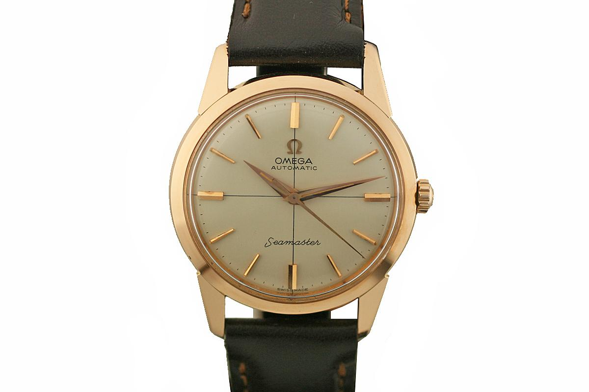 1950 Omega Seamaster Watch For Sale Mens Vintage Time Only