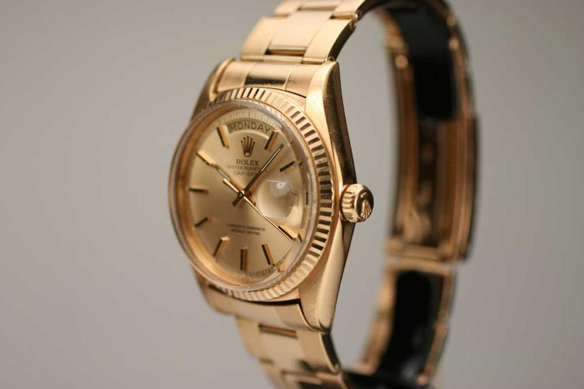 1972 Rolex Day Date Presidential Ref 1803 Watch For Sale