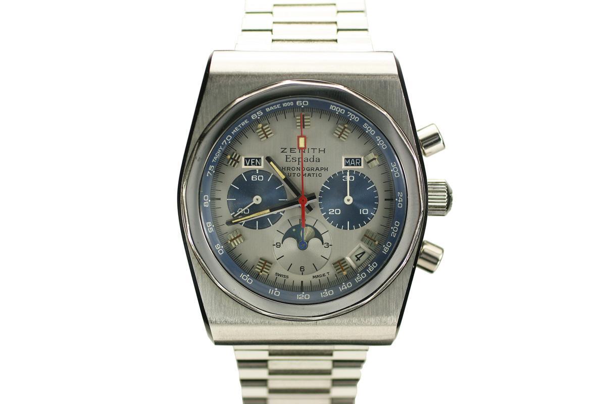 1970 Zenith Espada Watch For Sale Mens Vintage