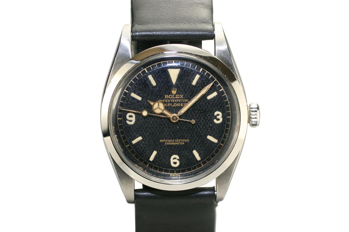 Hublot Watch Price >> 1953 Rolex Explorer Ref: 6350 Watch For Sale - Mens Vintage Time only
