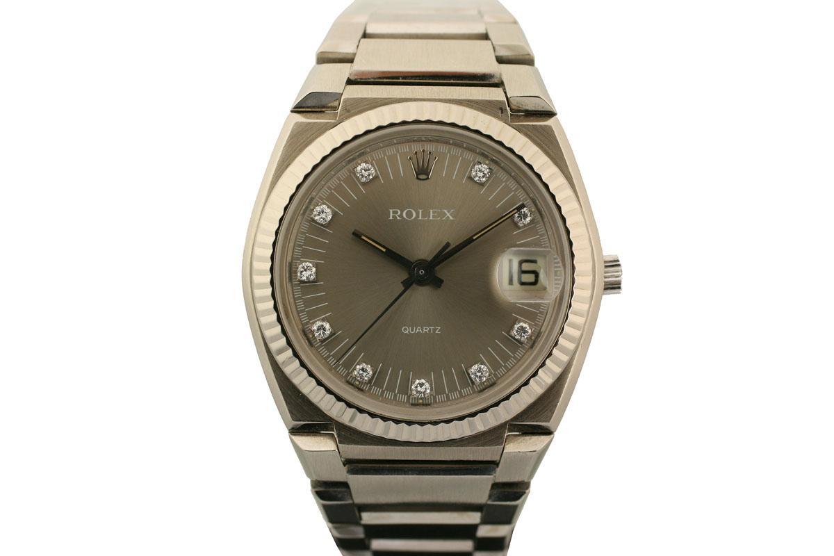 71dff841786cd 1970 Rolex Date Beta-21 Quartz Watch For Sale - Mens Vintage Time ...