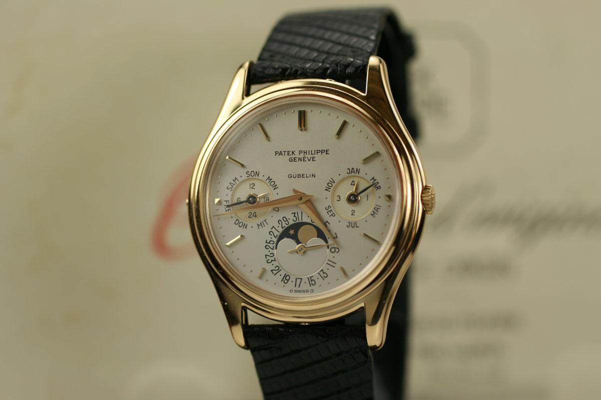 Perpetual Calendar Watch >> 1980 Patek Philippe Perpetual Calendar Moon Phase Watch ...
