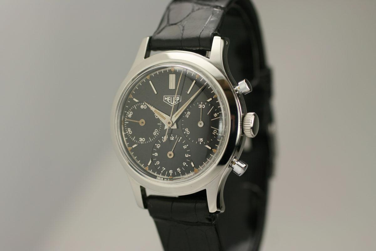 Hublot Watch Price >> 1950 Heuer Chronograph Watch For Sale - Mens Vintage Chronograph