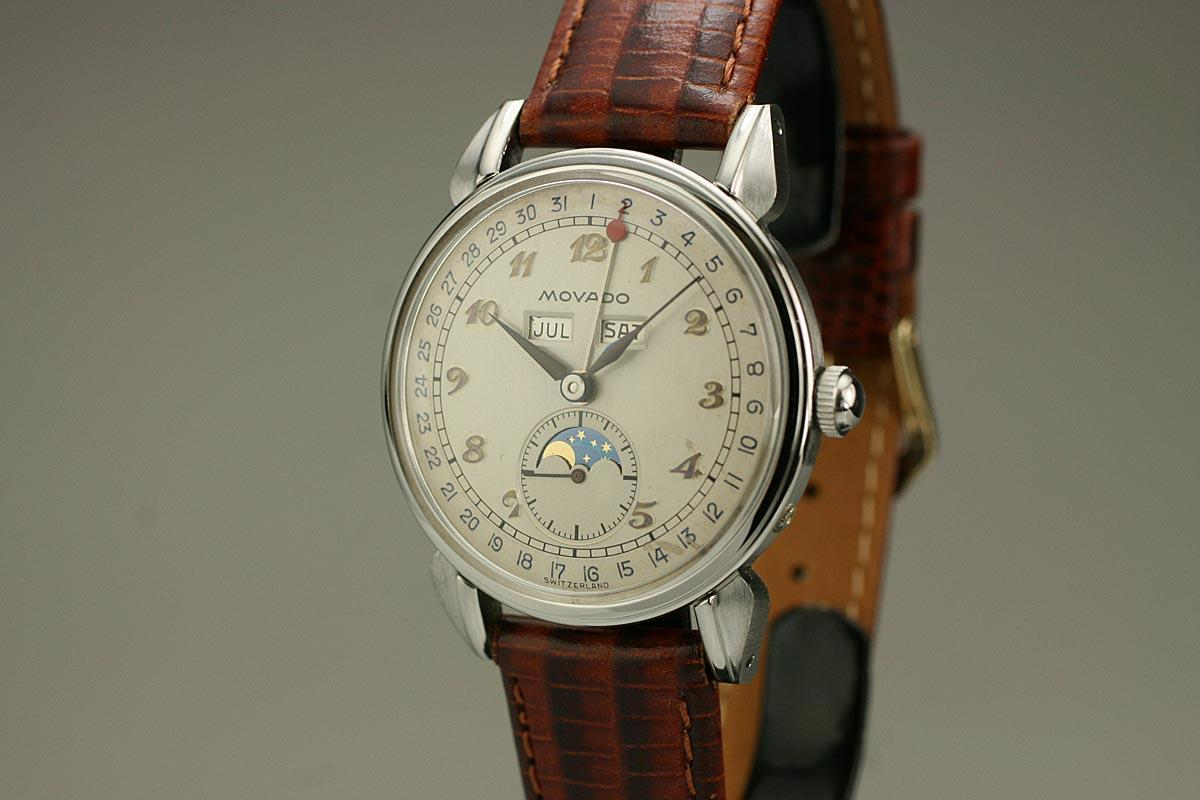 shinola movement dial brown lunar strap moon runwell and quartz leather with white watches watch phase