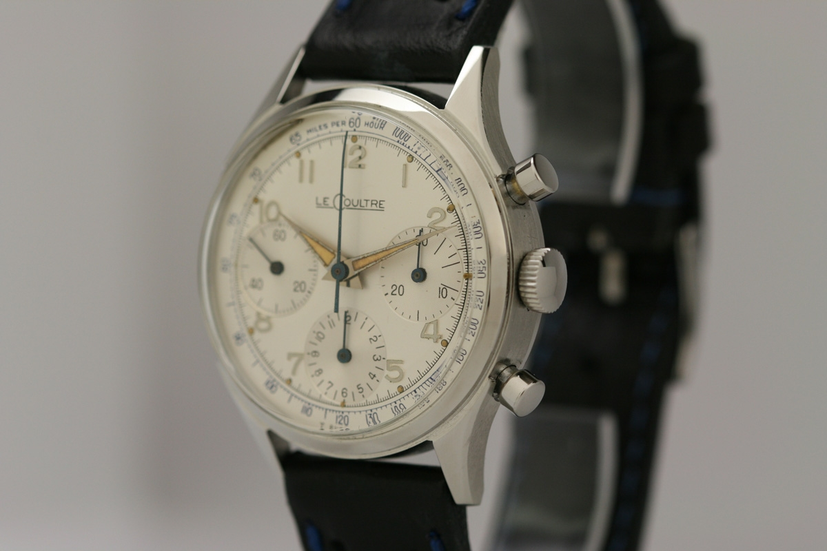 Breitling Watches For Sale >> 1950 LeCoultre Chronograph Watch For Sale - Mens Vintage ...