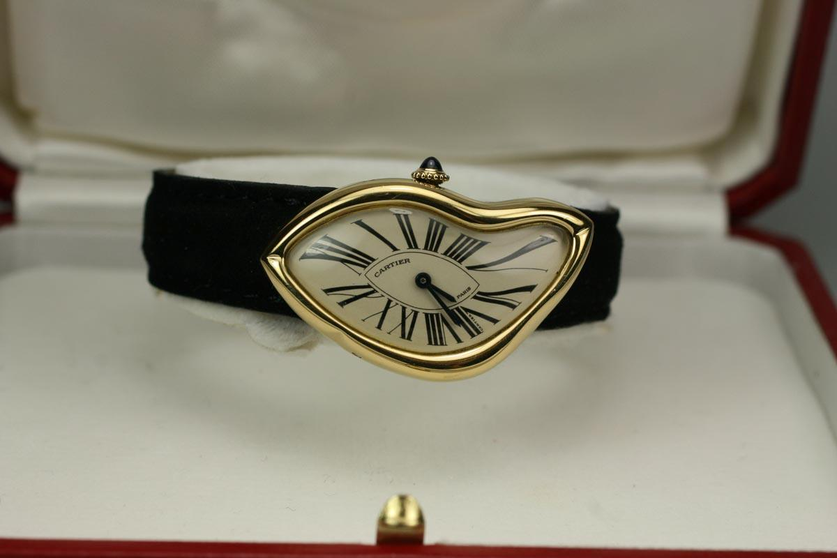 """Hublot Watch Price >> 1991 Cartier """"Crash"""" Watch For Sale - Unisex Vintage Time only"""