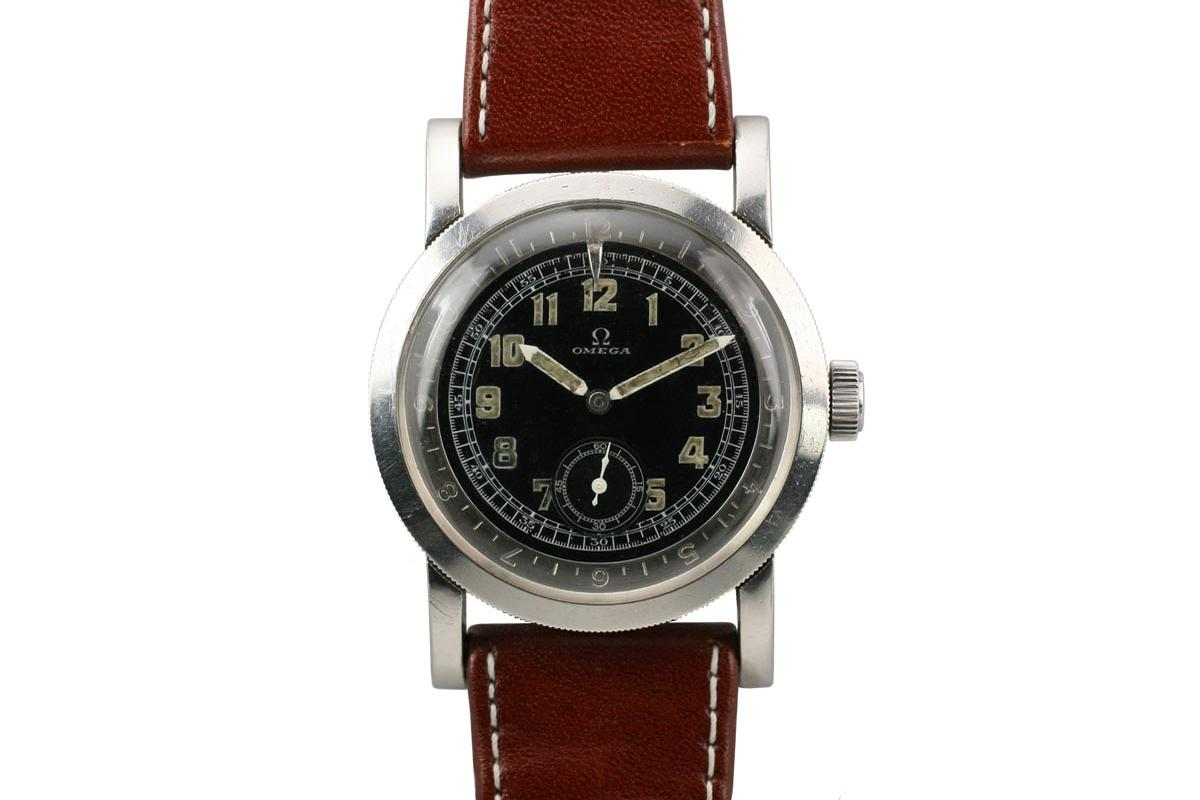 1938 Omega Pilot's Watch Watch For Sale