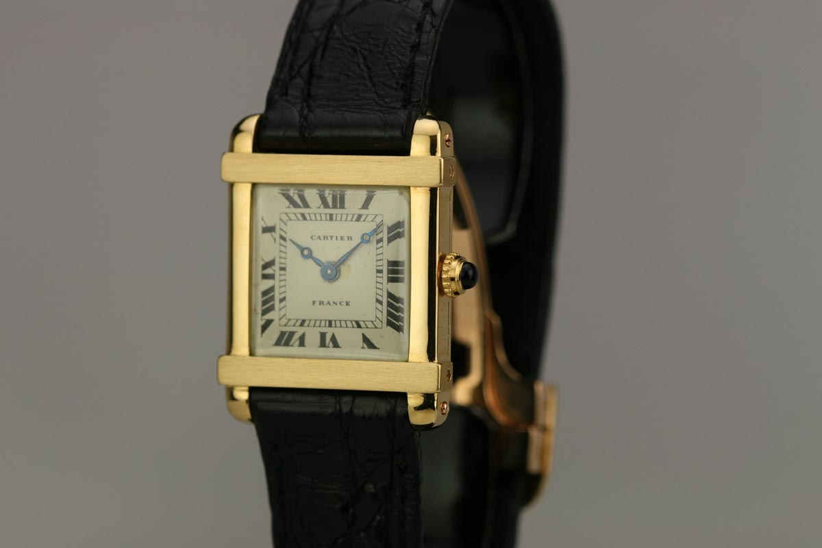 1930 cartier france tank chinoise watch for sale unisex vintage time only for Watches of france