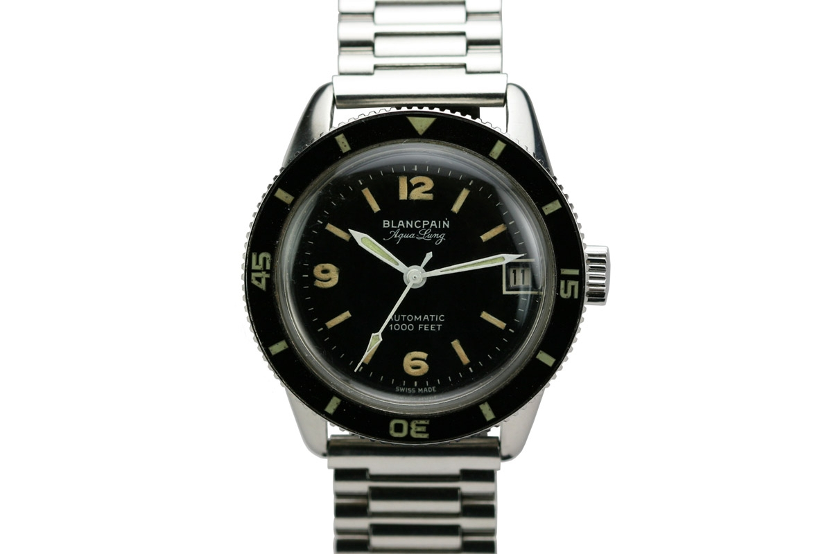 1950 Blancpain Aqualung Watch For Sale Mens Vintage Date Time Only