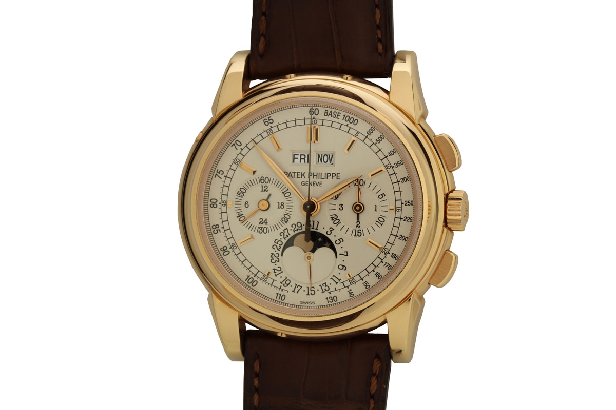 2009 patek philippe perpetual calendar chronograph 5970r watch for sale mens modern for Calendar watches