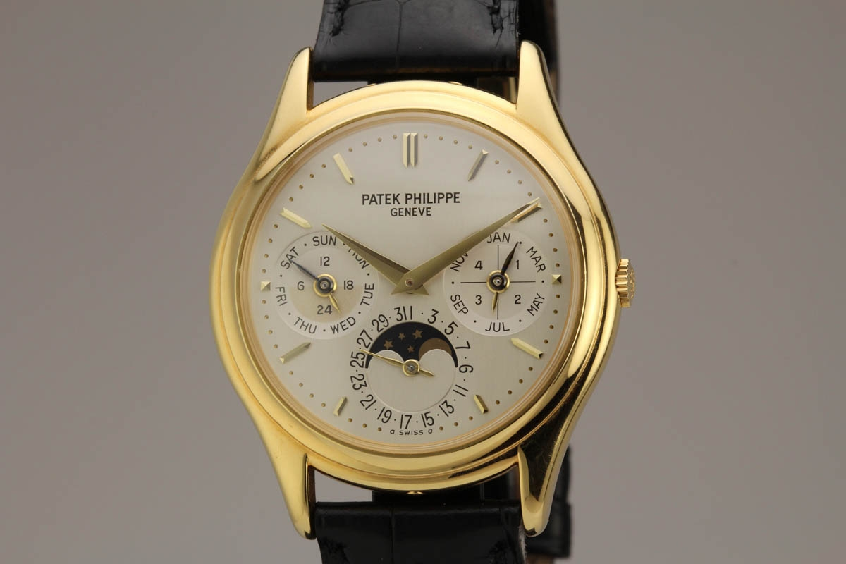 2006 patek philippe perpetual calendar moon phase ref 3940j watch for sale mens collectible for Patek philippe moonphase