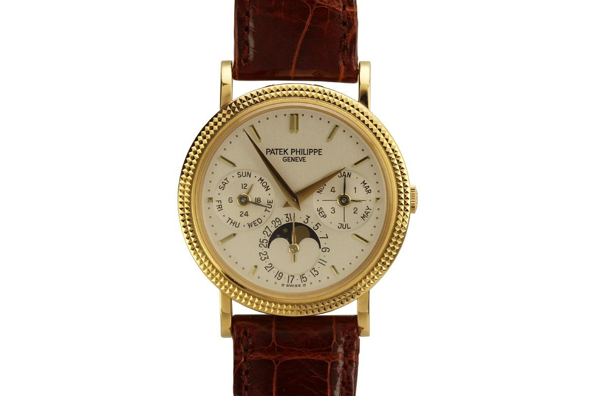 2008 patek philippe perpetual calendar moon phase ref 5039j watch for sale mens collectible for Patek philippe moonphase