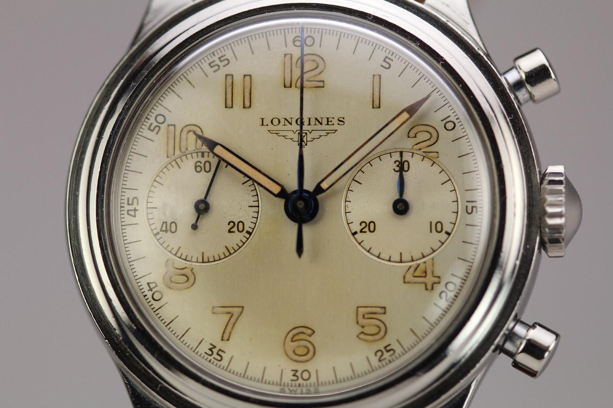 1952 Longines Chronograph Watch For Sale Mens Vintage