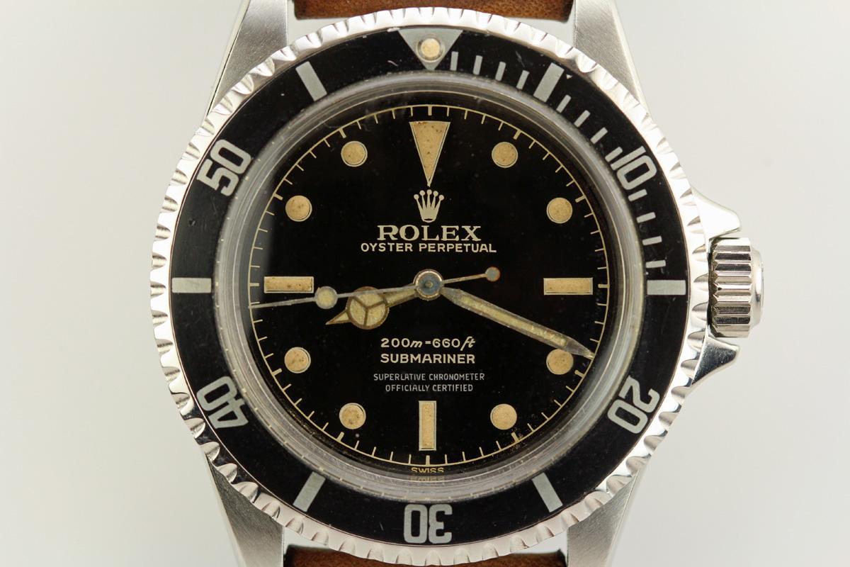 1962 Rolex Submariner Gilt Dial Ref 5512 Watch For Sale Mens