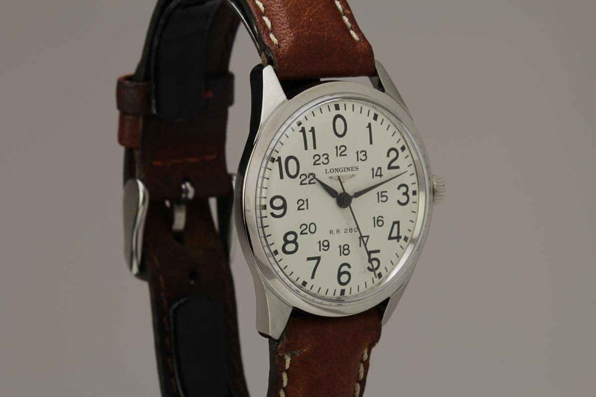 Hublot Watch Price >> 1966 Longines Railroad Watch For Sale - Mens Vintage 24 ...