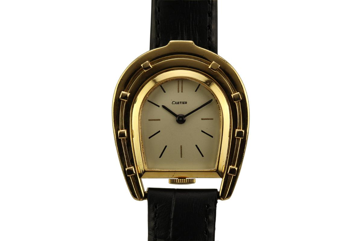 1960 cartier horseshoe watch for sale mens vintage time only for Vintage horseshoes for sale