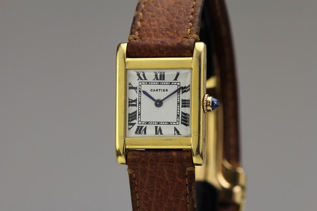1940 cartier tank normale watch for sale mens vintage time only. Black Bedroom Furniture Sets. Home Design Ideas