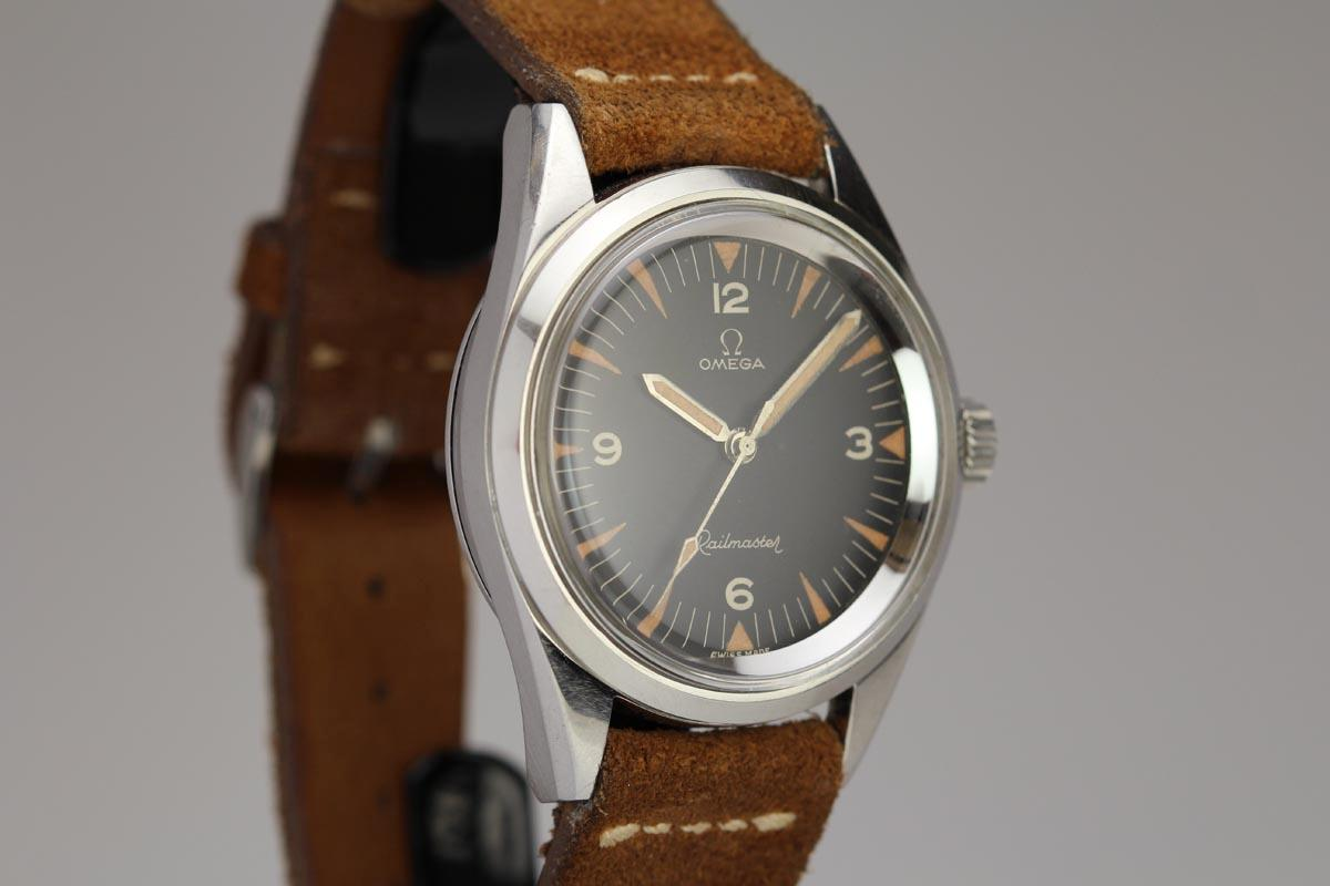 Hublot Watch Price >> 1960 Omega Railmaster Watch For Sale - Mens Vintage Time only